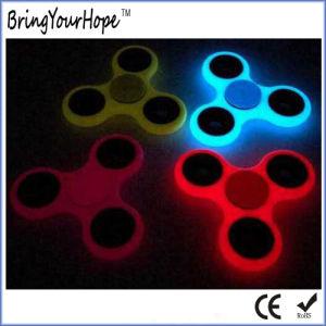 Transparent Design Dark Glow Hand Spinner (XH-HS-001D) pictures & photos