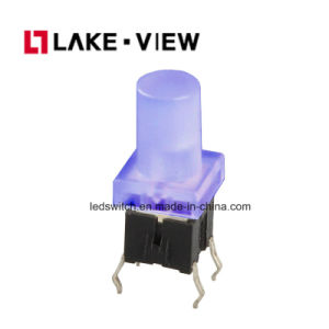 Illuminated Tact Switch with Multiple LED Color Options Are Available pictures & photos
