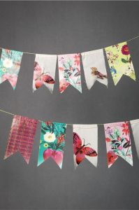 DIY Floral Bunting DIY Printable Floral Flower Party Decorations Polyester Bunting pictures & photos