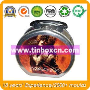 Handle Metal Rectangular Gift Tin Box pictures & photos