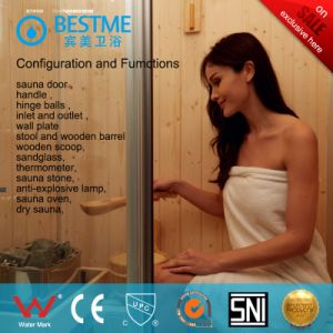 Foshan Factory Bathroom Glass Infrared Sauna Room (BZ-5037) pictures & photos