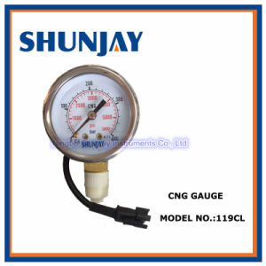 Stainless Steel 50mm CNG Gauge pictures & photos