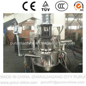Plastic Extruder for PP Woven Bag Recycling Pelletizing with Simens PLC pictures & photos