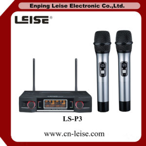 Ls-P3 Dual Channel UHF Wireless Microphone