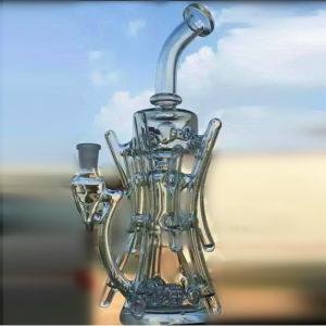 New Design Wholesale High Quality Glass Water Pipe Smoking pictures & photos