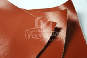 Silicone Rubber Coated Fiberglass Cloth pictures & photos