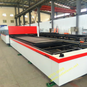 Automatic Metal Plate/Sheet Laser Processing Equipment (FLX3015-2000) pictures & photos