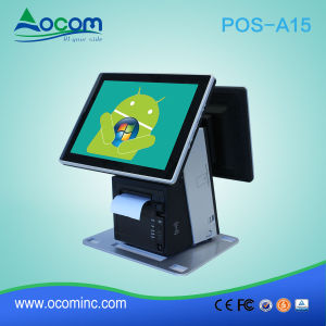 15inch Restaurant 2 Touch Screen POS Odering System pictures & photos