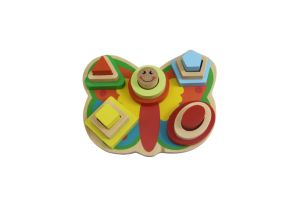 Butterfly Shape Puzzle Wooden Toy for Kids and Children pictures & photos