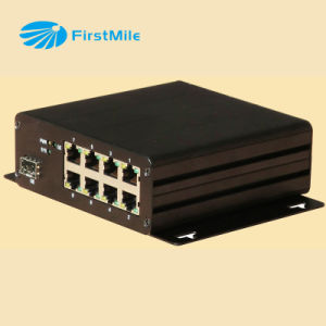 8 Ports Poe Switch Fiber Industrial Ethernet Switch pictures & photos