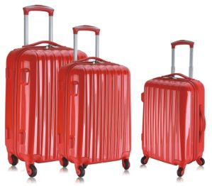 ABS/PC Zipper Styly Trolley Case pictures & photos
