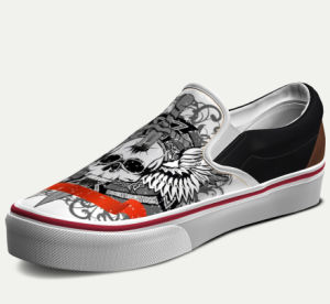 Men Casual Canvas Shoes, Custom Sneaker pictures & photos