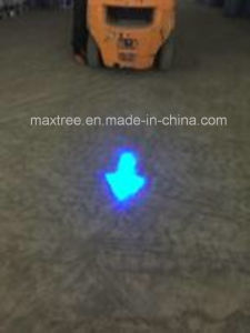 Red or Blue LED Forklift Directional Arrow Spot Lamps pictures & photos