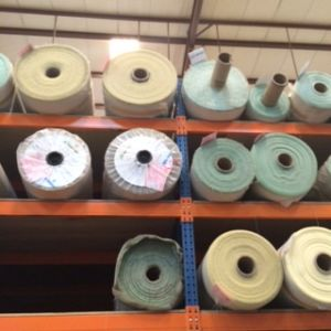 Textile Industry Storage Solution Warehouse Metal Fabric Roll Storage Rack pictures & photos