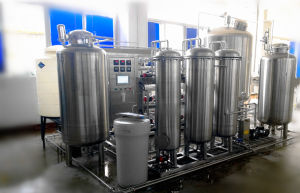 300g/H 1000lph RO +UV Ozone Drinking Water Treatment Machine pictures & photos