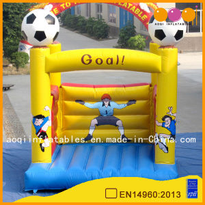 Football Theme Inflatable Jumping Bouncer (AQ02107-4) pictures & photos