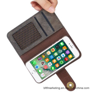 2in1 Manetic Detachable Leather Wallet Case for iPhone 8/8plus/7/7plus pictures & photos