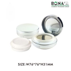 New Fashion 5g Plastic Empty Round Magnetic Cosmetic Compact pictures & photos