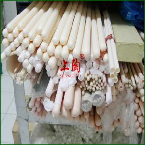 High Temperature and Chemical Resistance C799 Al2O3 Ceramic Tube for Electrical Insulation pictures & photos