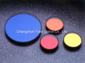 Golden Yellow Color Optical Glass Filter pictures & photos