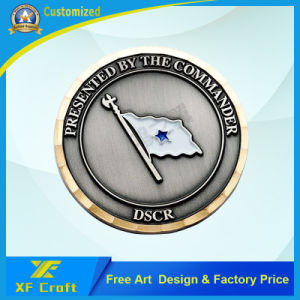 Professional Customized Souvenir Metal 3D Medallion Coin with Cheap Price (XF-CO29) pictures & photos