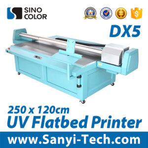 New Series Print Head Large Format UV Flatbed Printer pictures & photos