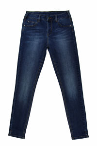 High Quality Ladies Skinny Five Pocket Denim Jeans (MY-042) pictures & photos