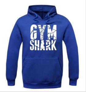 Men′s Blue Fleece Printing Muscle Sweatshirt (A590)