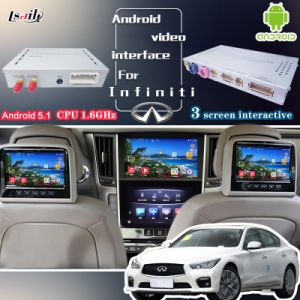 Android GPS Navigation Video Interface Box for 2014-2016 Infiniti Q50/Q50L/Q60 Upgrade with Mirror Link, Cast Screen, WiFi pictures & photos