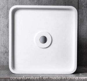 Cheap Solid Surface Bathroom Basin Made in China pictures & photos