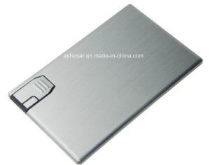 Slim Aluminium Flash Drive Memory Stick Card USB Disk pictures & photos