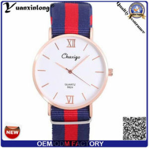 Yxl-487 Fashion Daniel Style Nylon Strap Geneva Wrist Watch Elegance Vogue Men Ladies Quartz Sport Casual Watches pictures & photos