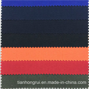 Blue Good Fire Retardant Function Safety 100 Cotton Fr Fabric for Workwear pictures & photos