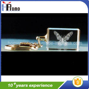 Crystal LED Key Chain for Promotion pictures & photos