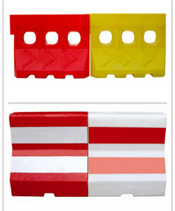Plastic Road Water Filled Defence Traffic Barriers Plastic pictures & photos