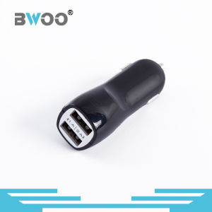 Wholesaler High Quality 2 in 1 Dual USB Mobile Auto Car Charger pictures & photos