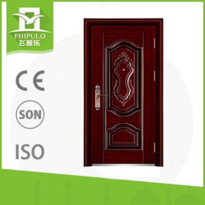 Lowest Price Steel Security Door for Nigeria Market pictures & photos
