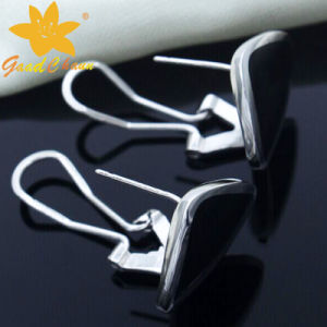 Stse-16113004 Franc Process Black Gemstone Fashion Sterling Silver Rings Cheap pictures & photos