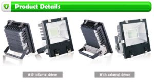 Latest Ultra Slim 85-265 VAC 19000lm 200W LED Floodlight IP65 pictures & photos