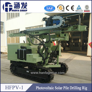 Hfpv-1 Crawler Hydraulic Photovoltaic Solar Spiral Rotary Pile Rig pictures & photos