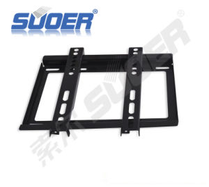 "Suoer High Quality TV Bracket 14"" to 32"" TV Wall Mount for Flat Screens LCD TV Wall Mount Bracket (A06060062) pictures & photos"