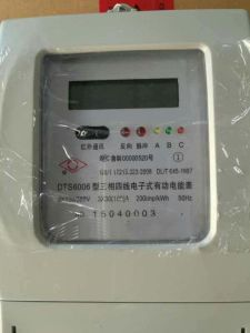 Prepaid LED Display Static Remote-Reading Three Phase Enegry/Electricity Meter pictures & photos