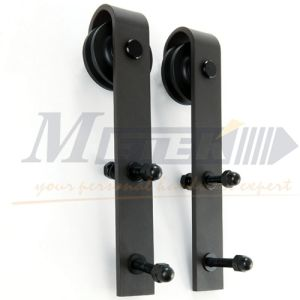 China Suppliers Carbon Steel Sliding Barn Door Hardware pictures & photos