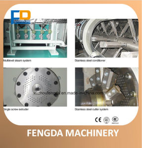 Feed Machine-Single Screw Steam Extruder for Aquafeed and Livestock Feed pictures & photos