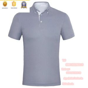 2016 Custom Made Unisex Ecru White Polo Shirts pictures & photos