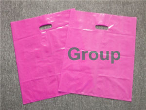 Shopping Merchandise Die Cut Plastic Bag pictures & photos