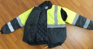 Waterproof Coat Parka Reflective Safety Protective Clothing Pilot Jacket (SFT13) pictures & photos