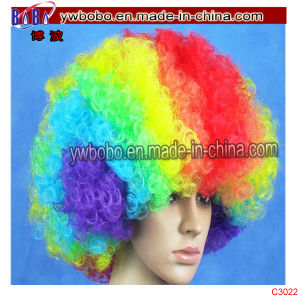 Head Accessory Pop Afro Wig Best Halloween Costumes (C3022) pictures & photos