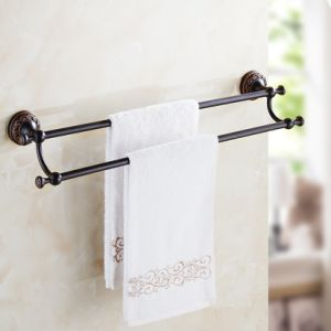 FLG Double Towel Bars Bathroom Fitting Oil Rubbed Bronze pictures & photos