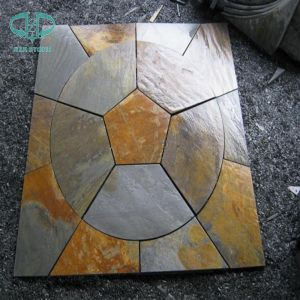 Slate Flagstone, Cultured Stone, Cultural Stone, Slate Round pictures & photos